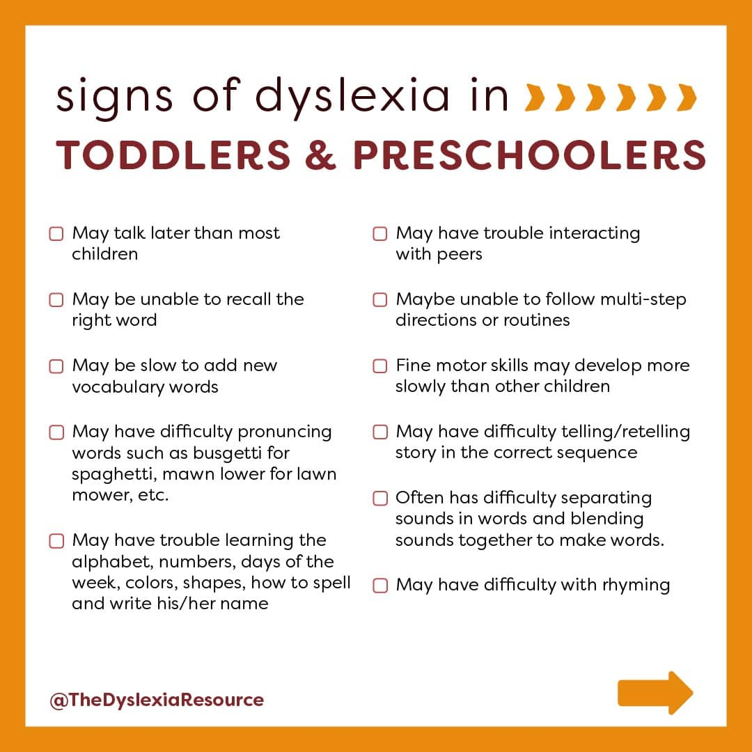 Common Sign and Challenges of Dyslexia Slide 2