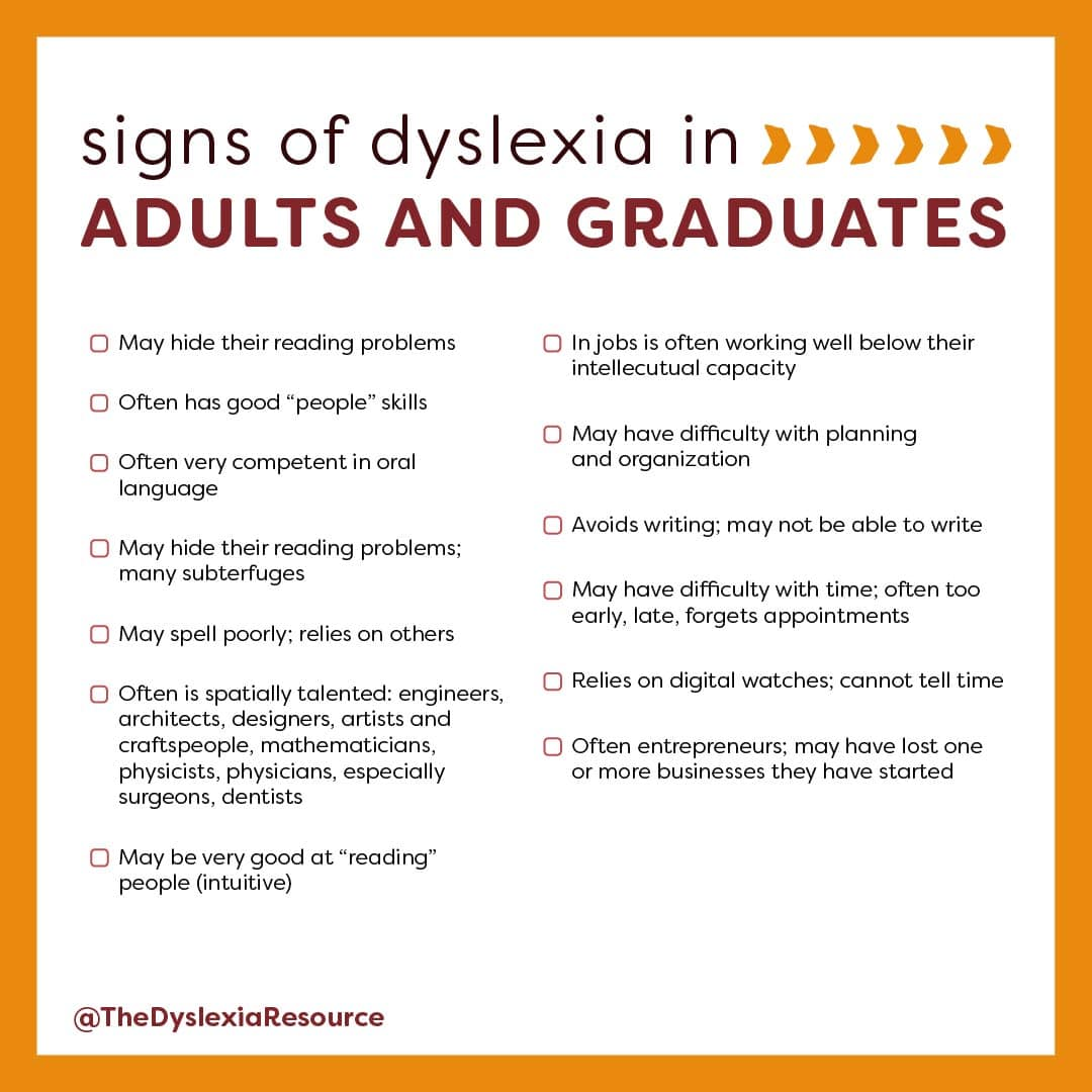 Common Sign and Challenges of Dyslexia Slide 6