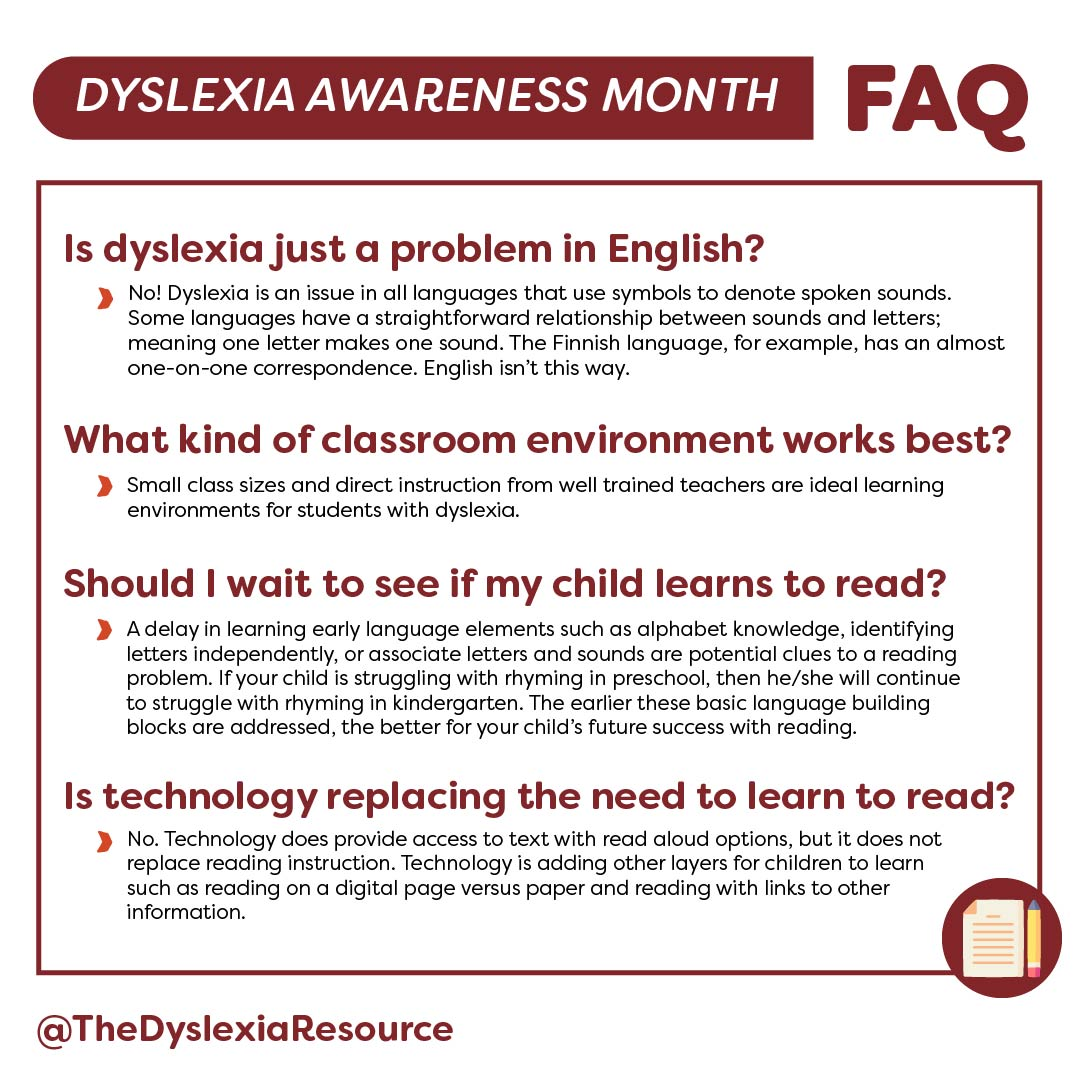 Frequently Asked Questions About Dyslexia - 03